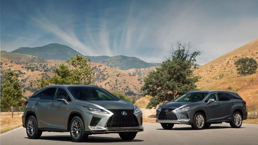 Lexus обновил RX. Найдёте отличия?