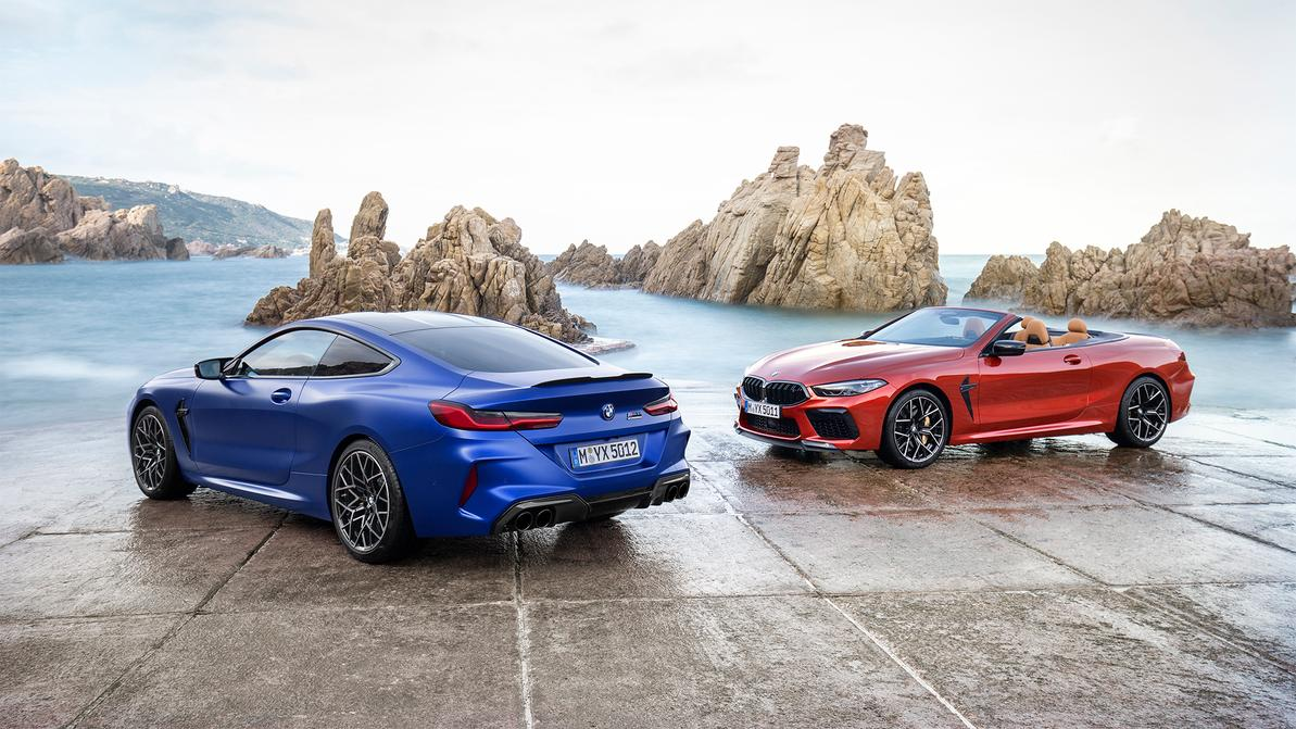 BMW представила кабриолет и купе M8
