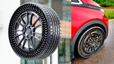 Michelin и General Motors станут делать безвоздушные шины для легковушек