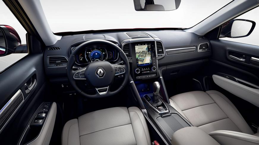 Renault Koleos обновился