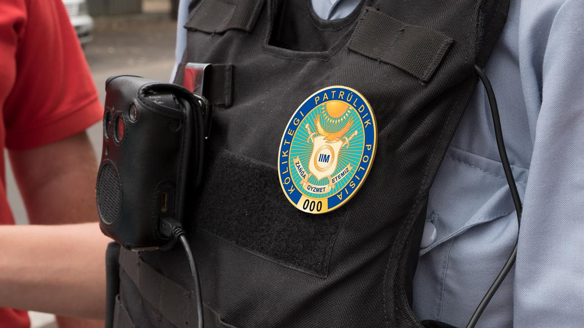 Новые жетоны выдадут полицейским в Казахстане