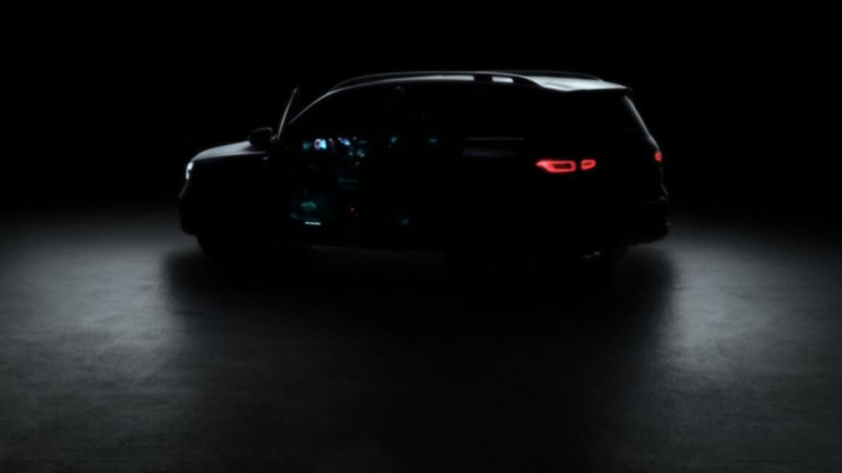 Первый тизер нового Mercedes-Benz GLB