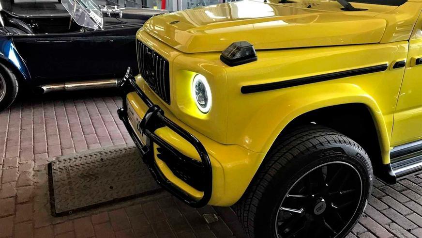 Suzuki Jimny превратили в новый гелик