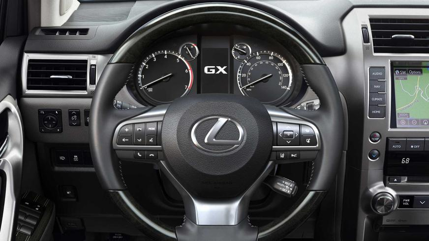 Lexus показал обновлённый GX