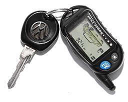 Volkswagen Passat - 1990 - ключ