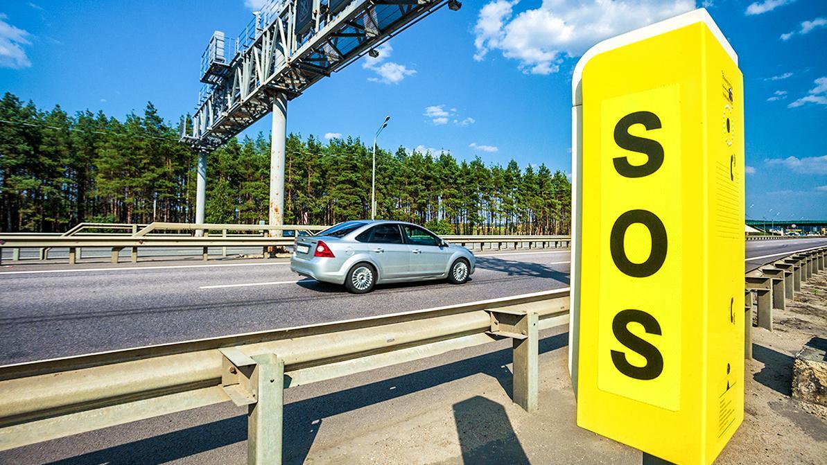 Столбы для вызова аварийных служб могут появиться на новых автодорогах РК