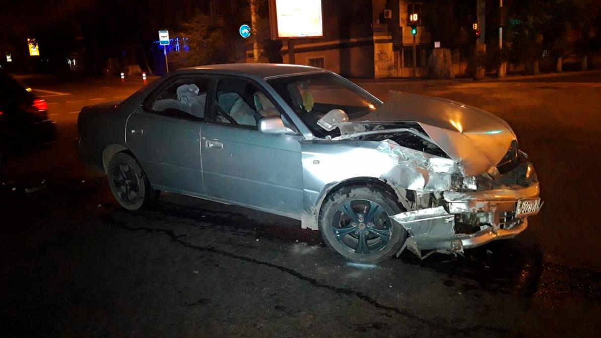 Mercedes-Benz ML скрылся с места ДТП