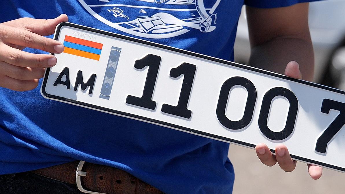 Машины из Армении, России и Кыргызстана будут регистрировать онлайн