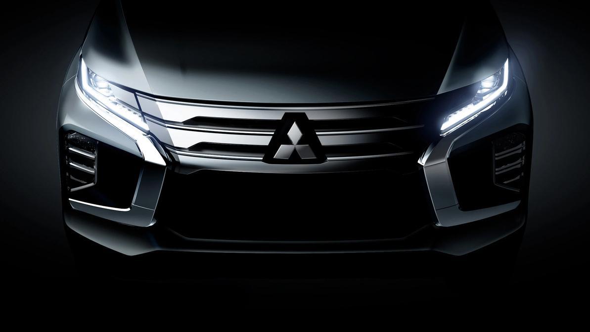 Первое фото обновлённого Mitsubishi Pajero Sport
