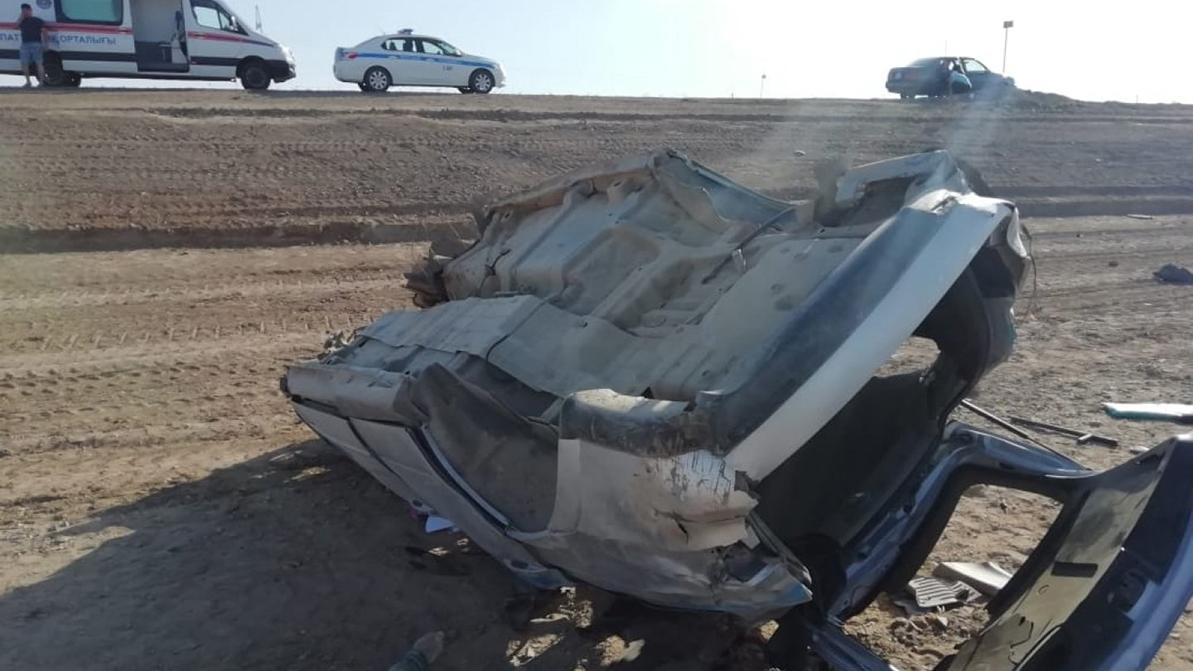 Двое полицейских погибли в ДТП на трассе