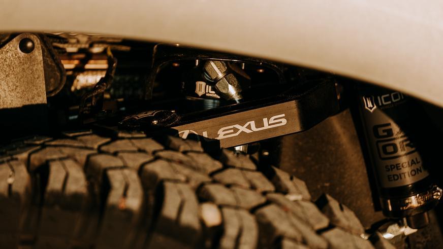 Lexus превратила стандартный GX в концептуальный внедорожник