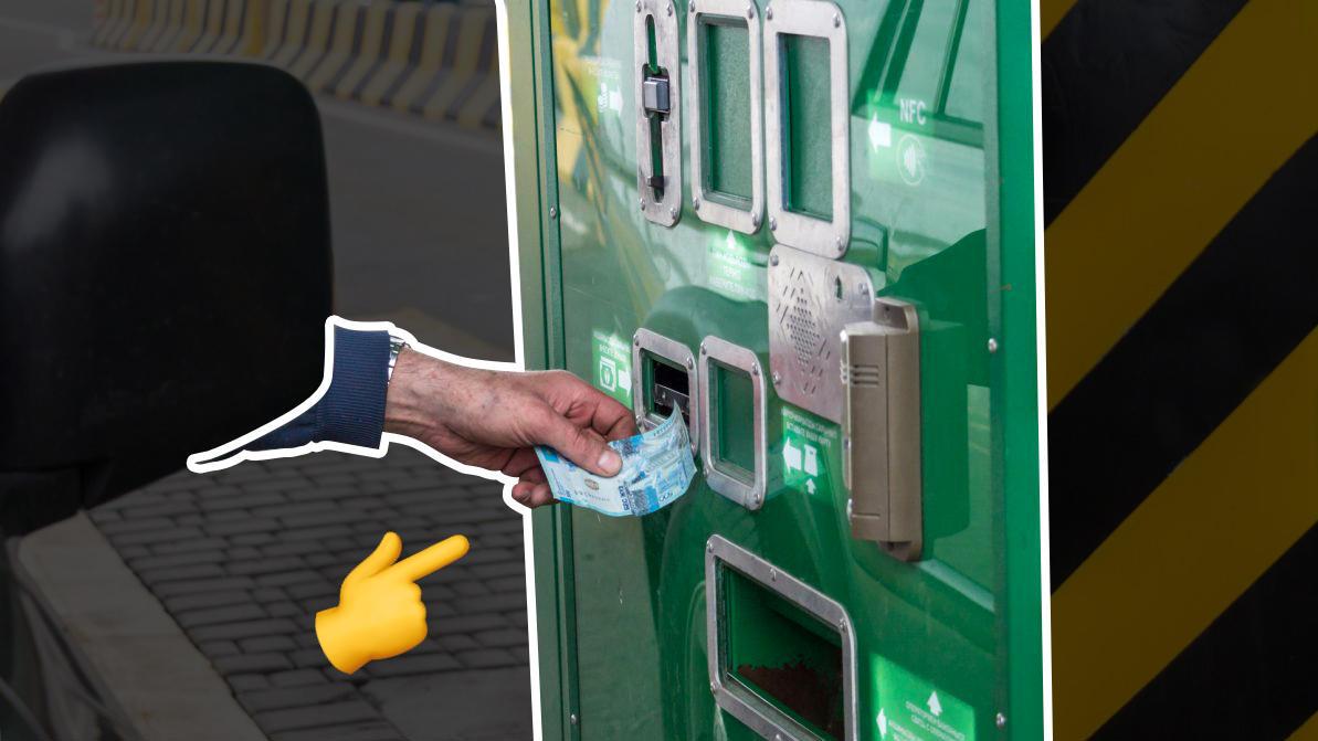Платные дороги Казахстана оплачиваются на контрольной точке