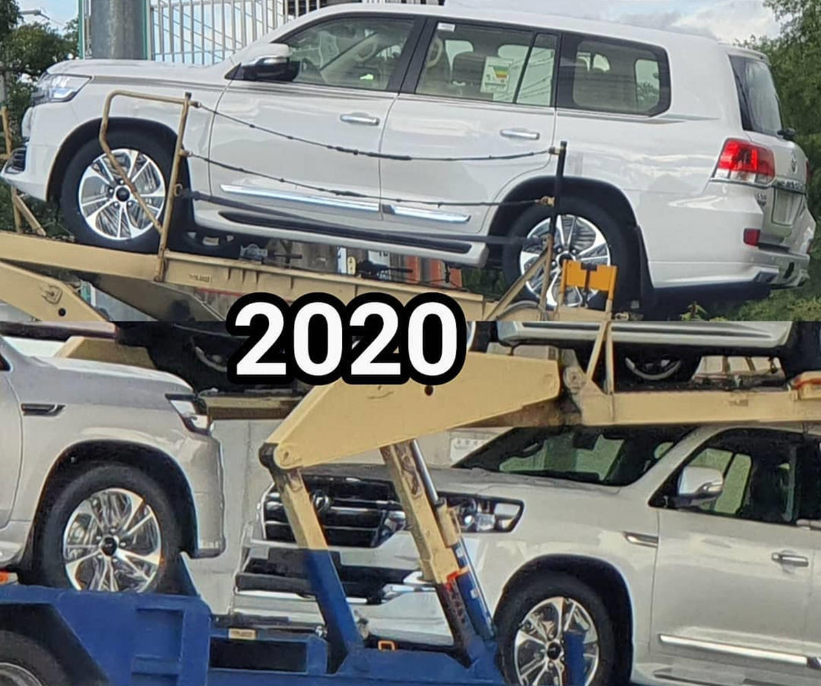 Toyota Land Cruiser 2020 отправился на восток