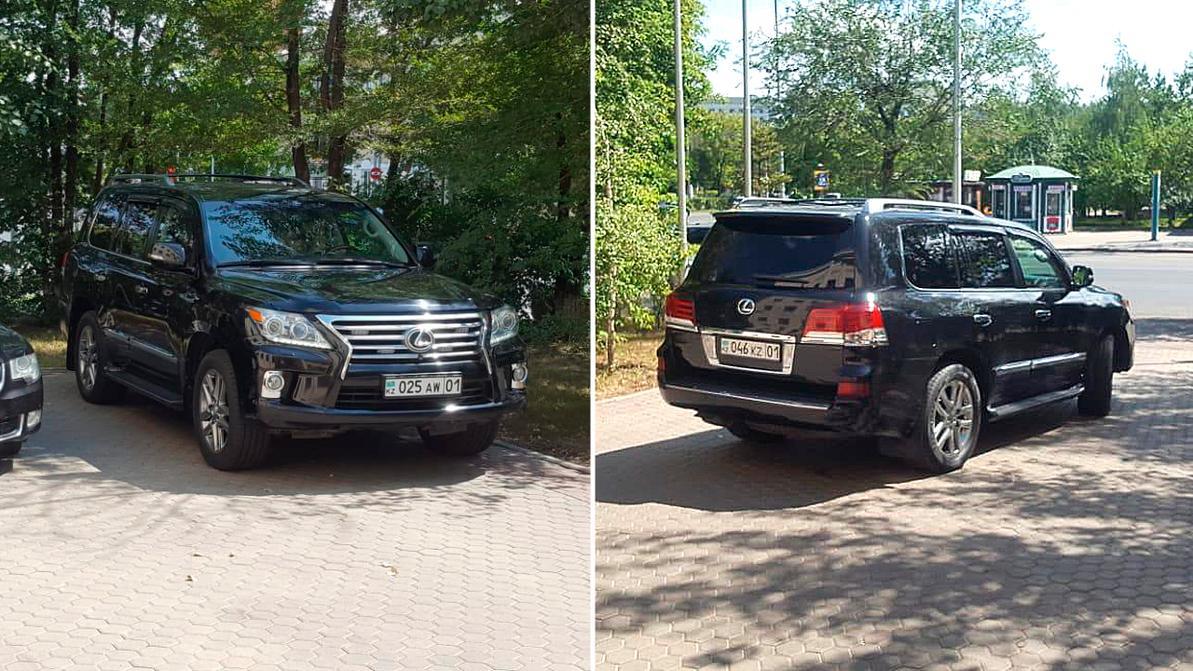 Разные госномера заметили на машине главы МВД