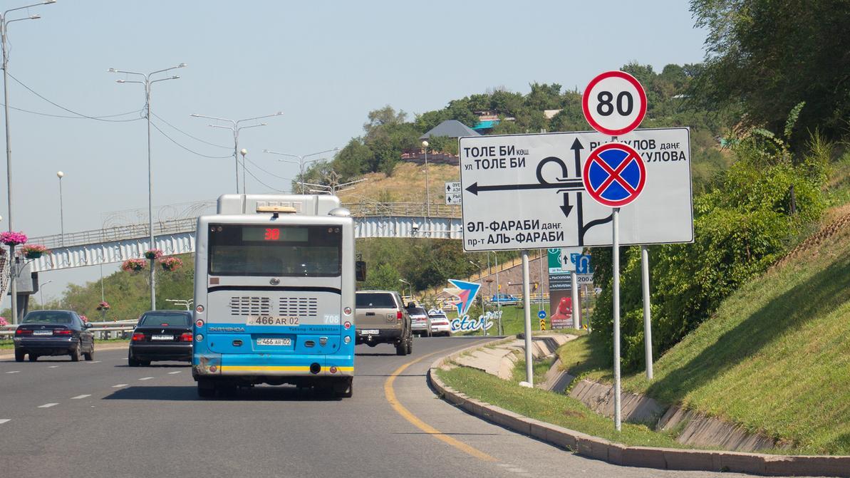 Ограничение 80 км/ч вернут на ВОАД и Аль-Фараби сегодня в полночь