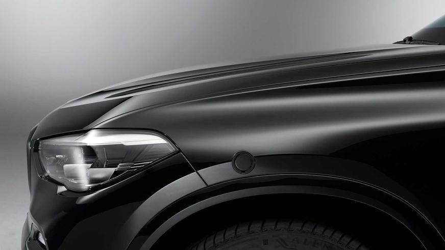 У BMW появился бронированный X5 с защитой от дронов