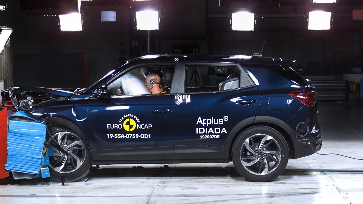 SsangYong впервые получил пять звёзд от EuroNCAP