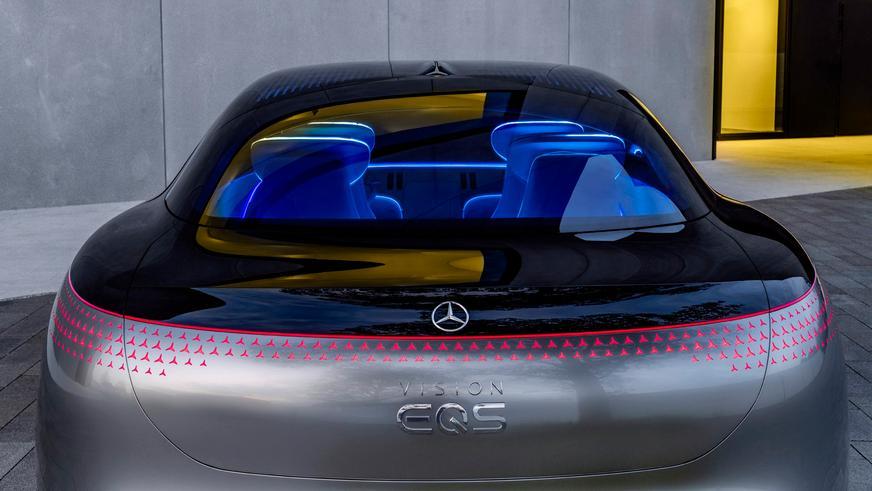 Mercedes-Benz показал концепт электрического S-Class
