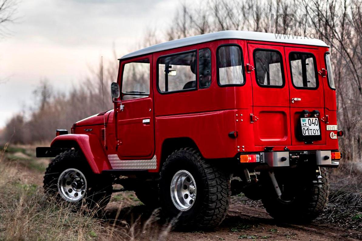Рестомод классического Land Cruiser продают за 34.5 млн тенге