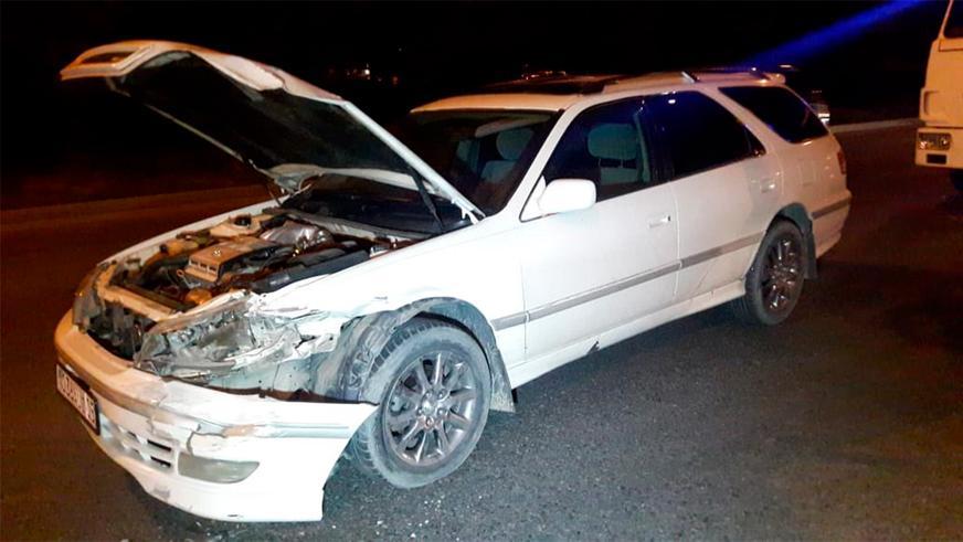 Трое пострадавших в тройном ДТП в Алматы