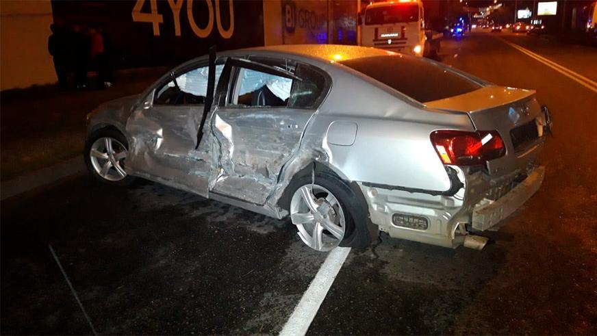 Трое человек попали под колёса в результате аварии в Алматы