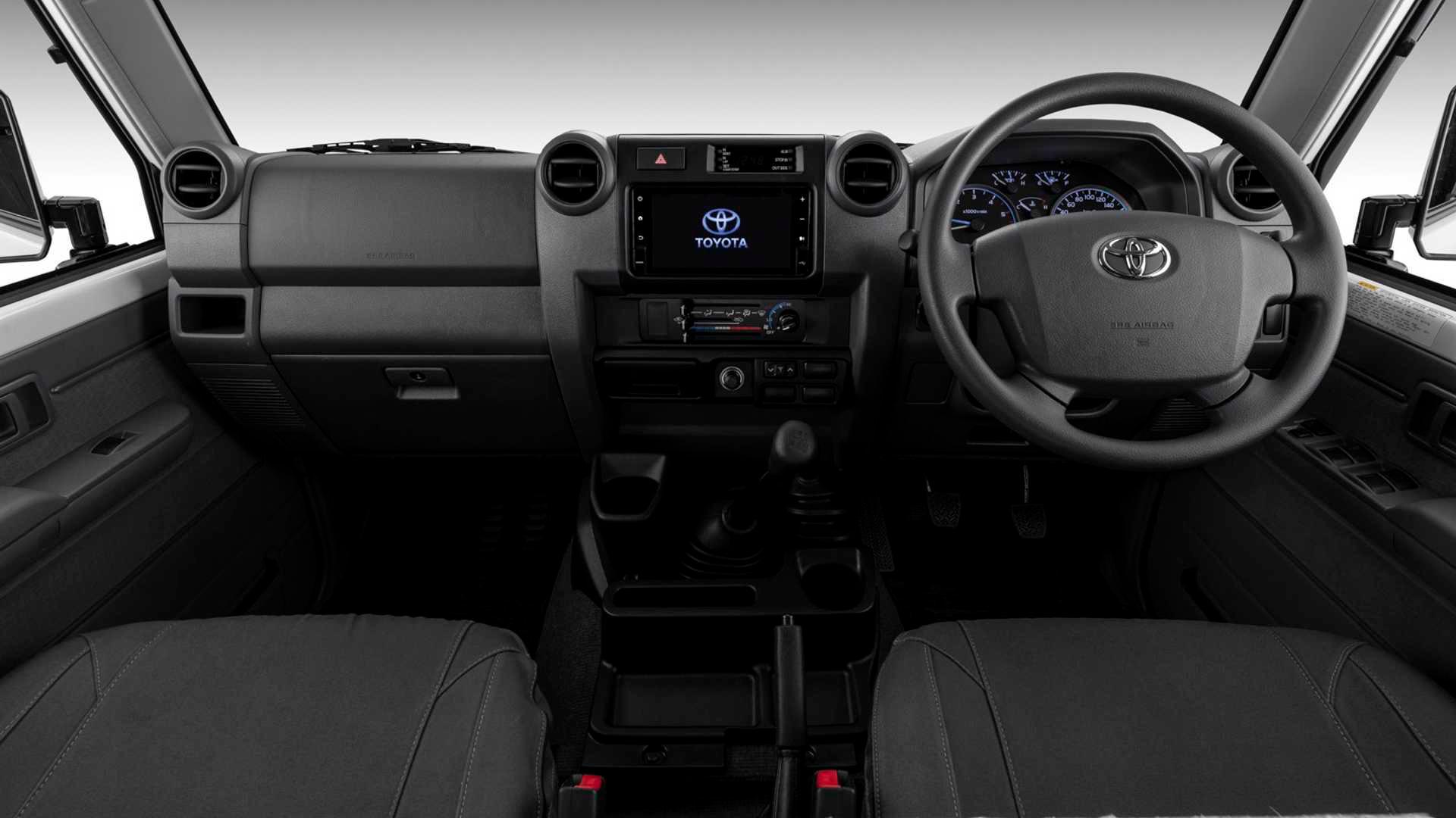 Toyota Land Cruiser, названный в честь пустыни