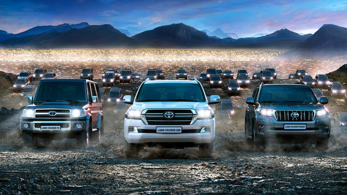 Toyota продала 10 миллионов внедорожников Land Cruiser