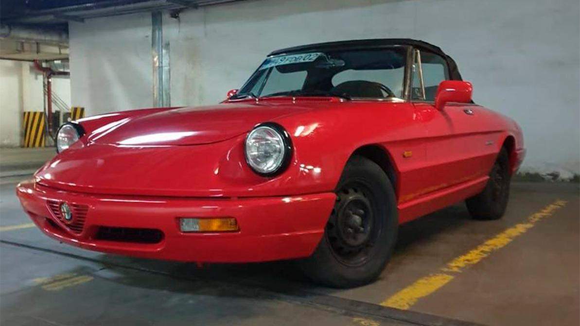Alfa Romeo Spider с немецким сердцем за 3 млн