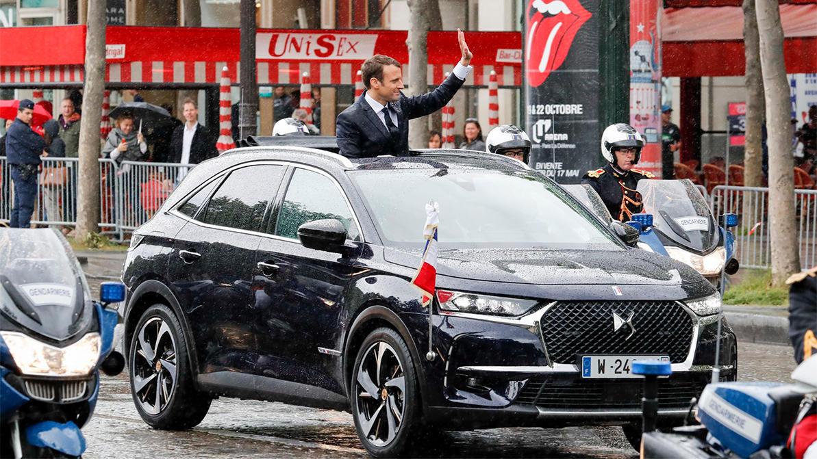 Макрон на Renault