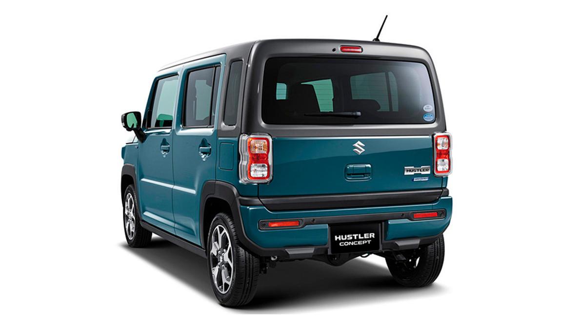 Вторая генерация Suzuki Hustler
