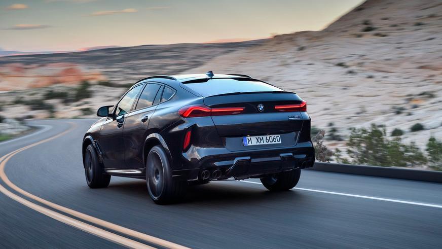 BMW показала новые X5 M и X6 M