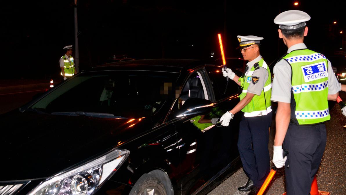 Казахстанец совершил ДТП в Южной Корее и попытался сбежать