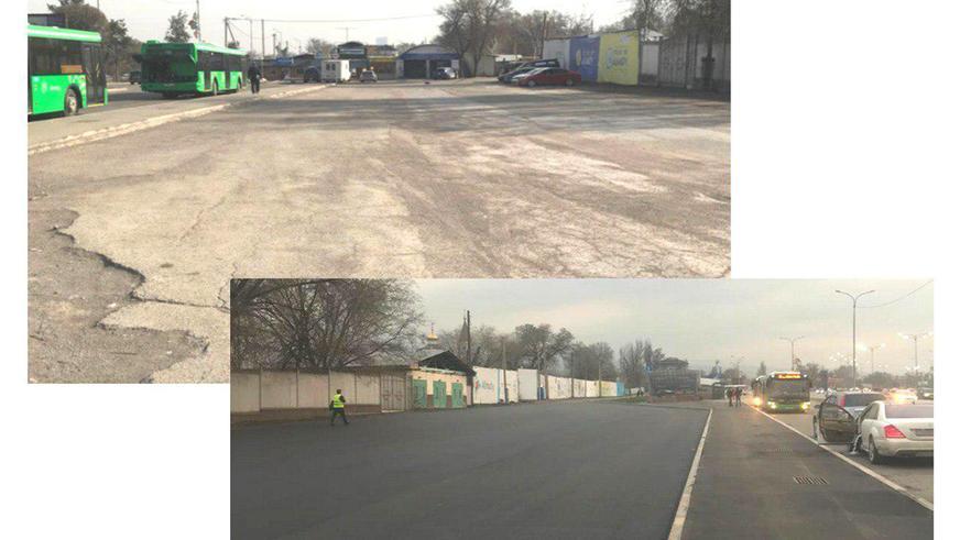 В Алматы построено в четыре раза больше дорог