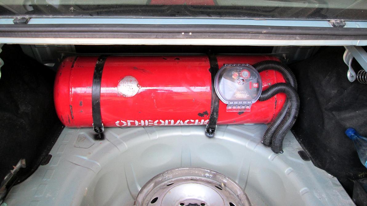 Почти каждый десятый автомобиль в Казахстане ездит на газе