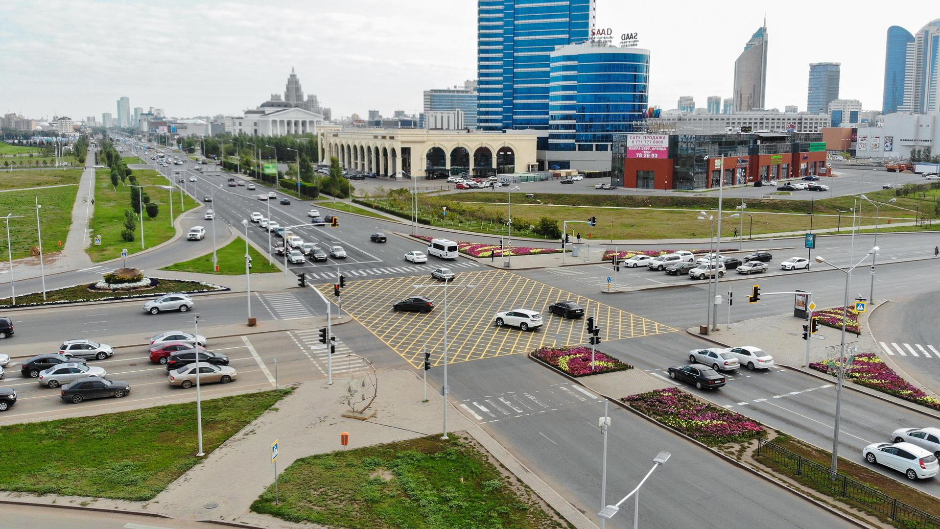 Ещё один «вафельный перекрёсток» появился в Казахстане