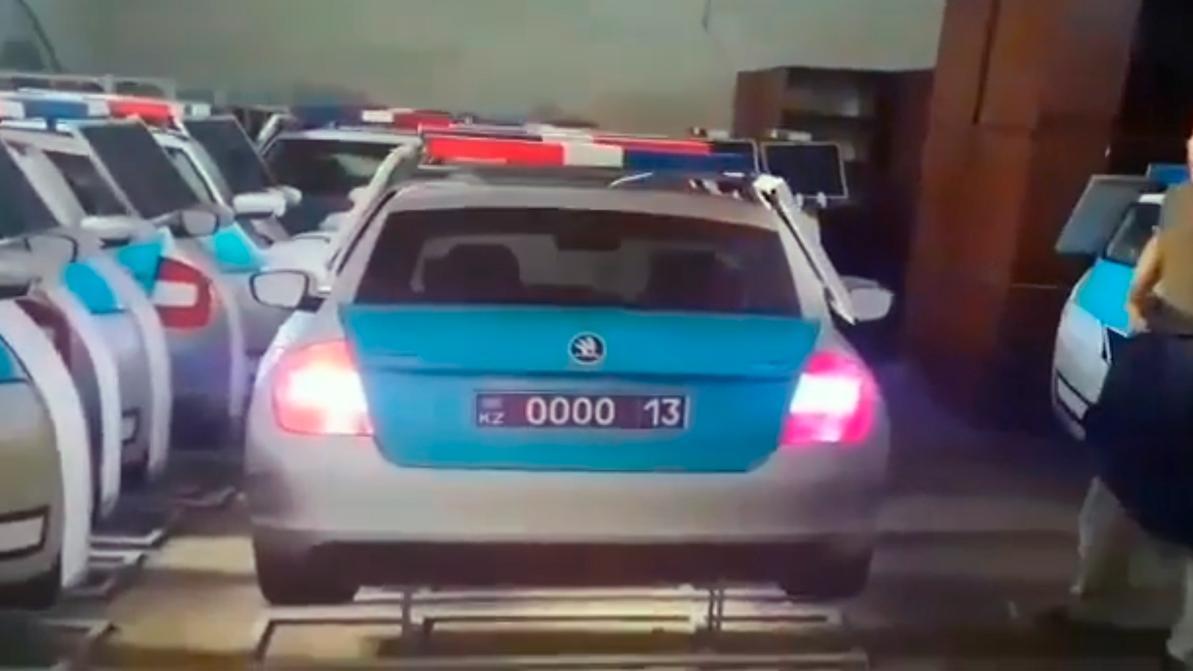 Дюжину макетов патрульных авто планируют установить в Туркестанской области