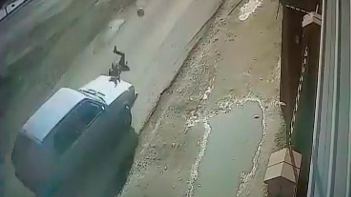 Сбил ребёнка и скрылся с места происшествия