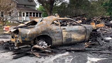 Dodge Challenger восстал из пепла за девять месяцев