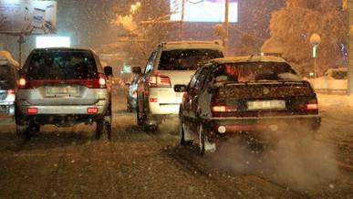 Гололедицу и мокрый снег прогнозируют на дорогах Алматы в ближайшие двое суток