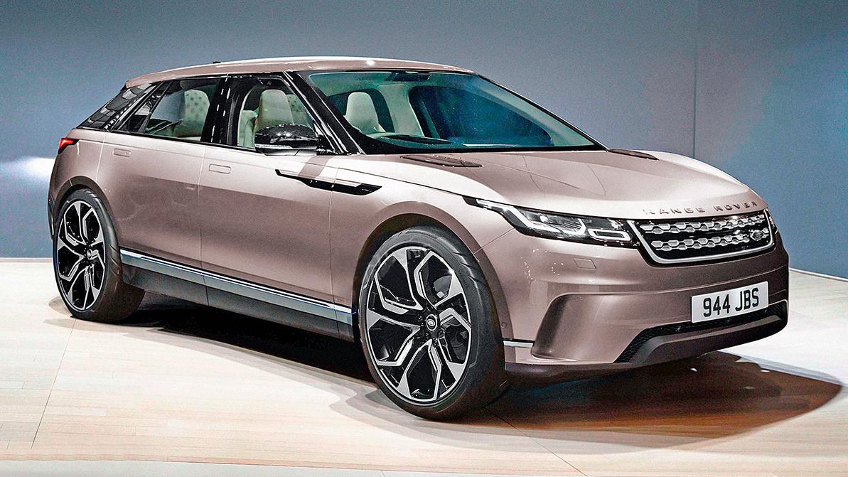Так может выглядеть самый городской Range Rover