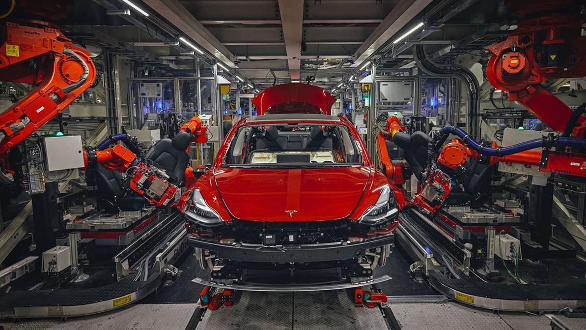 В Германии появится завод по производству Tesla