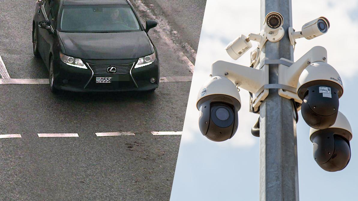 200 раз нарушил ПДД водитель Lexus за несколько дней в Алматы