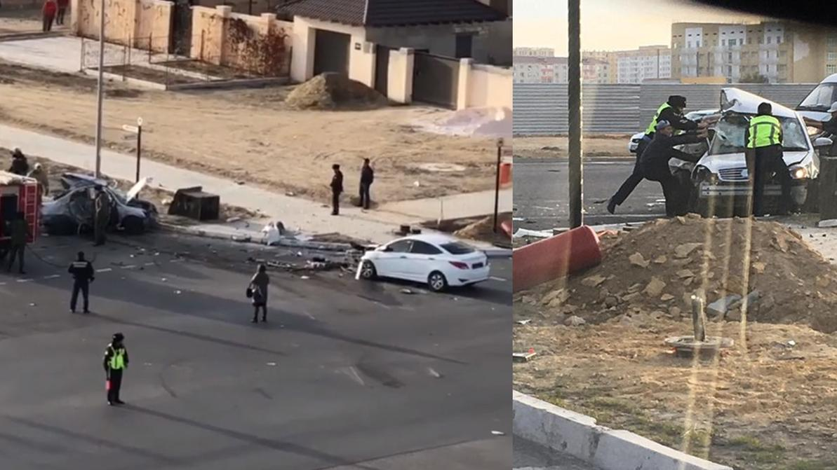 Смертельную аварию устроил 13-летний подросток в Актау