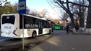 Электробусы алматинской сборки вышли на работу