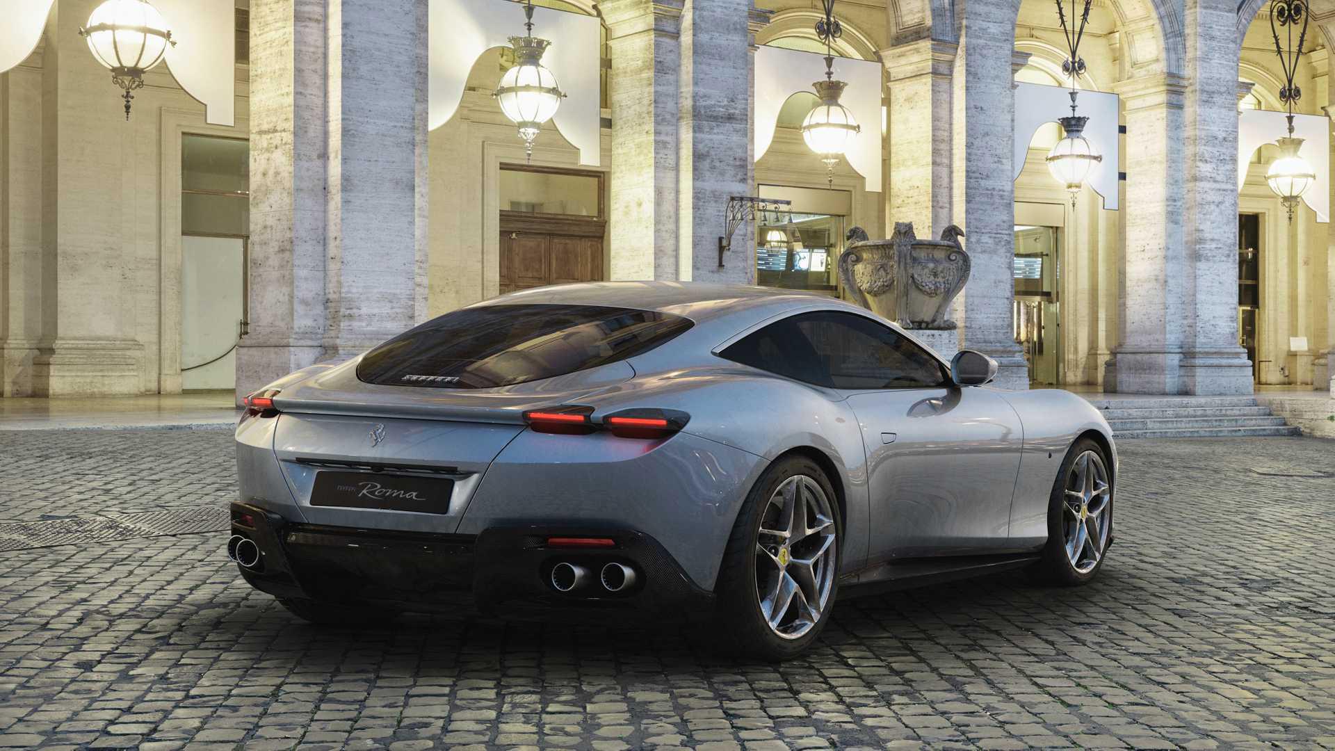 Ferrari создала переднемоторное купе с ретро-дизайном