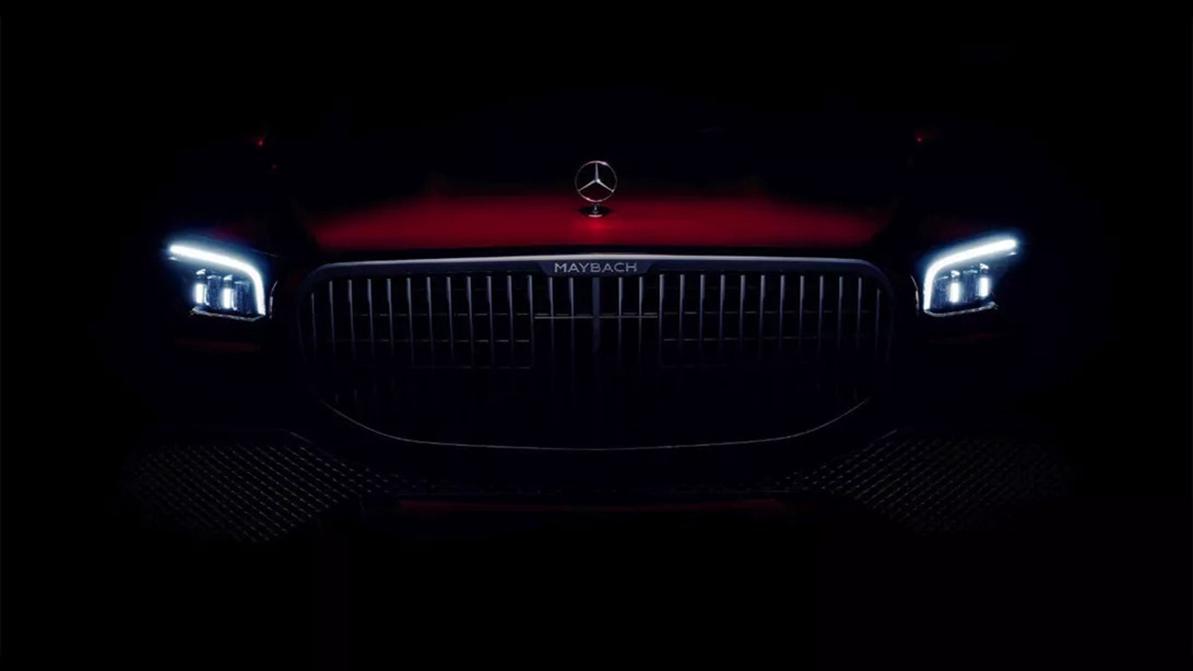Первый официальный тизер Mercedes-Maybach GLS