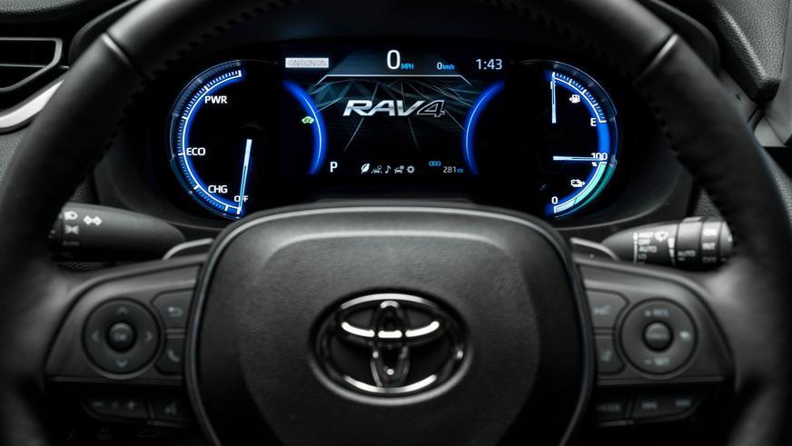 Toyota RAV4 с 306-сильной силовой установкой