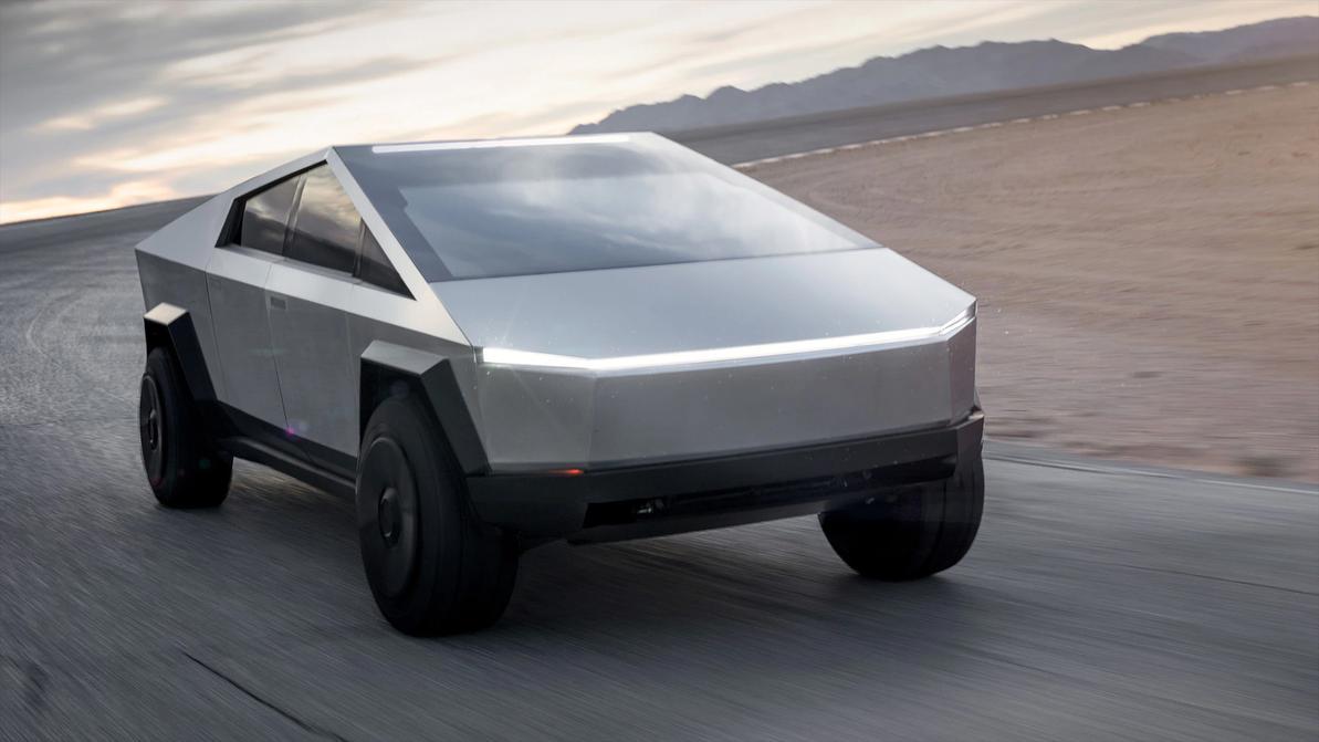 Tesla представила футуристический пикап на электротяге