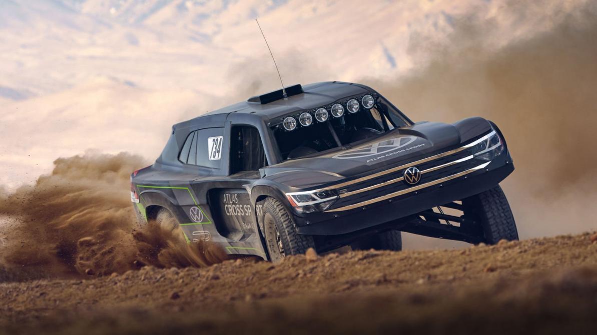 Volkswagen, который не нуждается в дорогах