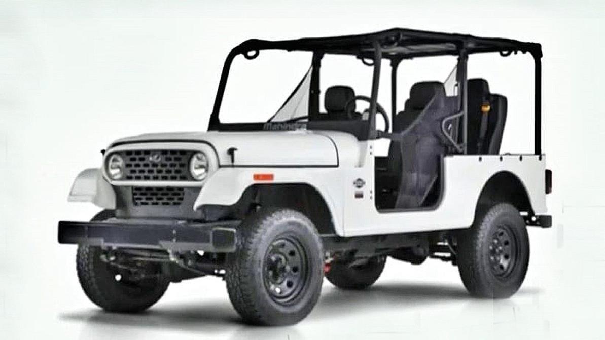 Mahindra vs Jeep: первой жертвой пала решётка радиатора